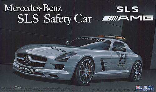 Mercedes benz sls f1 safety car fujimi 123981 for Mercedes benz car names